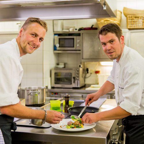 Küchenchefs, Josef und Thomas